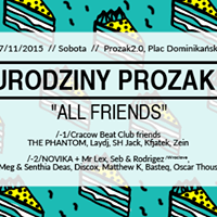 "3. URODZINY klubu Prozak 2.0 ""ALL FRIENDS"""