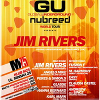 """Nubreed"" Global Underground World Tour pres. JIM RIVERS"
