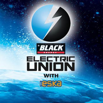 Black ELECTRIC UNION with ESKA