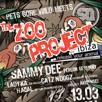 Pets gone Wild meets  ZOO Project Ibiza!