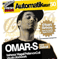 MFS Automatik 6 Years B-Day – Back to Detroit! with OMAR S!