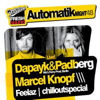 Miller Fresh Sound Automatik Night 48  feat. Dapayk & Padberg!