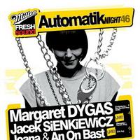 Miller Fresh Sound Automatik Night 46 – Margaret Dygas & Jacek Sienkiewicz