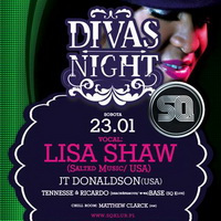 Lech prezentuje: Divas Night feat. LISA SHAW!