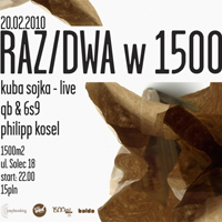 RAZ/DWA: Kuba Sojka live (Matrix)