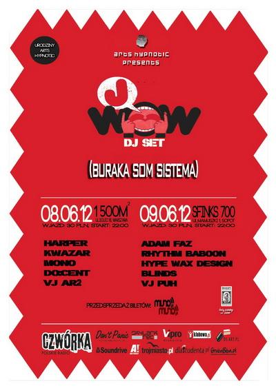 Arts Hypnotic Presents: J-WOW (BURAKA SOM SISTEMA) DJ SET