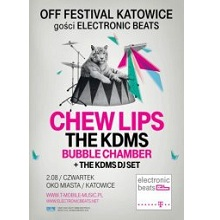 OFF Festival 2012 gości Electronic Beats: Chew Lips, The KDMS i Bubble Chamber