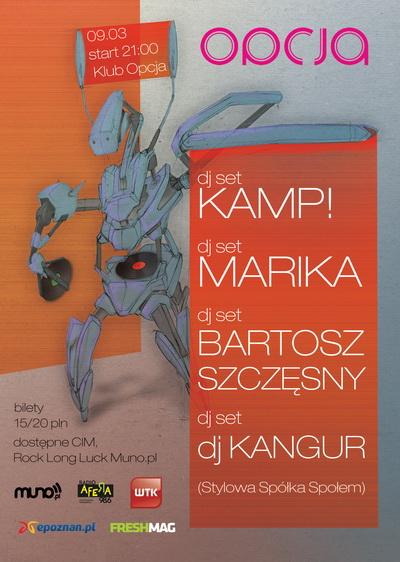 KAMP!, Bartosz Szczęsny, Marika, Kangur