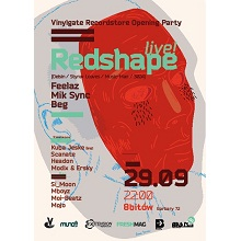 Vinylgate Recordstore Opening w/ Redshape live!
