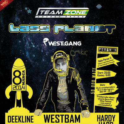 Bass Planet 2014 by Team Zone Energy Drink