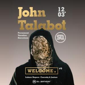 Welcome.#9 pres. JOHN TALABOT!