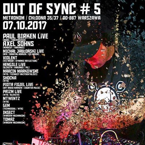 Out Of Sync #5 :Paul Birken Live x Axel Sohns