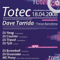 TOTEC – TRESOR Records – Dave Tarrida