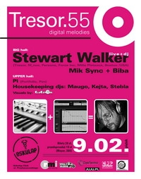 TRESOR 55 – REAKTYWACJA Stewart Walker