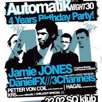 Automatik Night 30 – Jamie Jones – 4 Years Birthday Party!