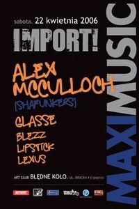 IMPORT!Alex McCulloch