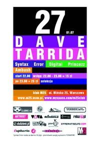 DAVE TARRIDA
