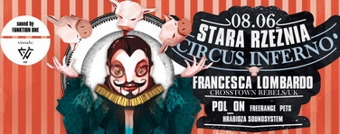 Circus Inferno with Francesca Lombardo in Poznan