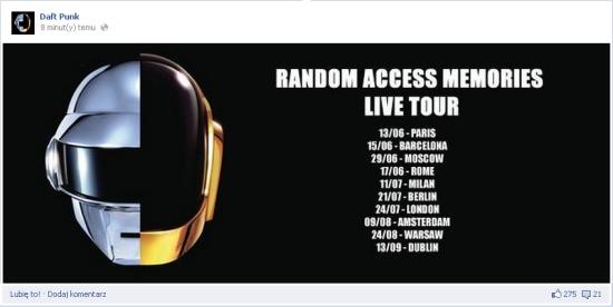 Daft punk tour dates in Brisbane