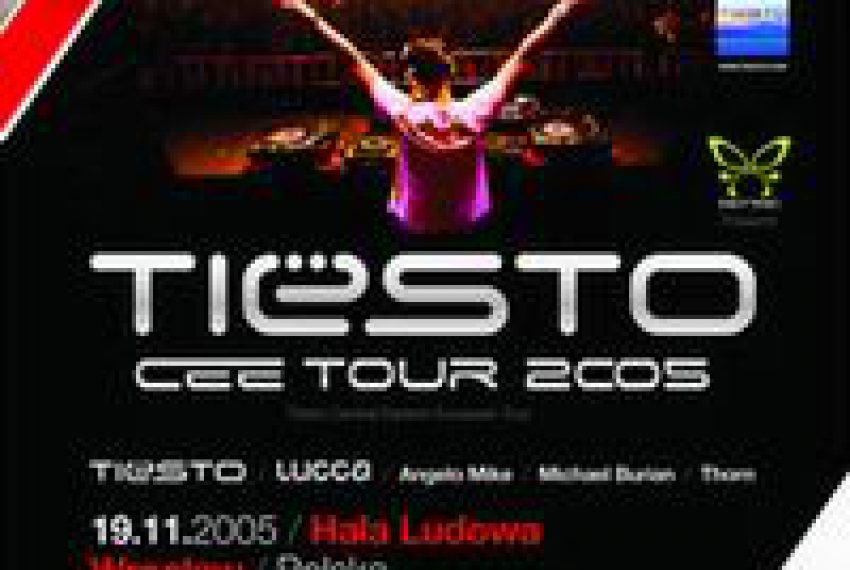 TIËSTO Central Eastern European TOUR 2005