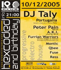 HEXCODED 2nd BIRTHDAY PARTY w klubie IQ