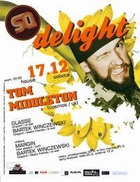 sobota 17.12 TOM MIDDLETON @ SQ klub!!!
