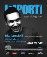 IMPORT! – NIC FANCIULLI 04.02 @ SQ Klub!!