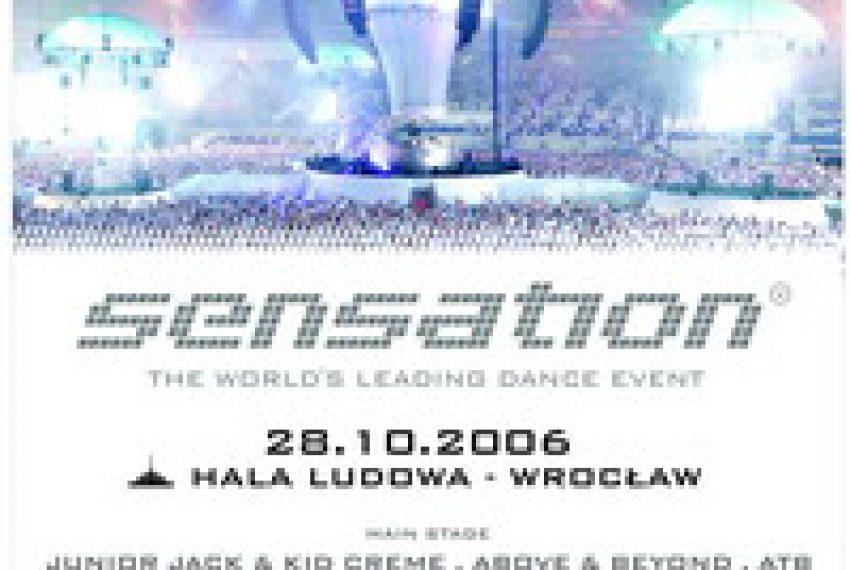 SENSATION WHITE – 28.10 Hala Ludowa Wrocław!!