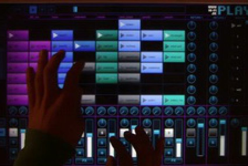 Play Box – Ableton Multi-touch Controller