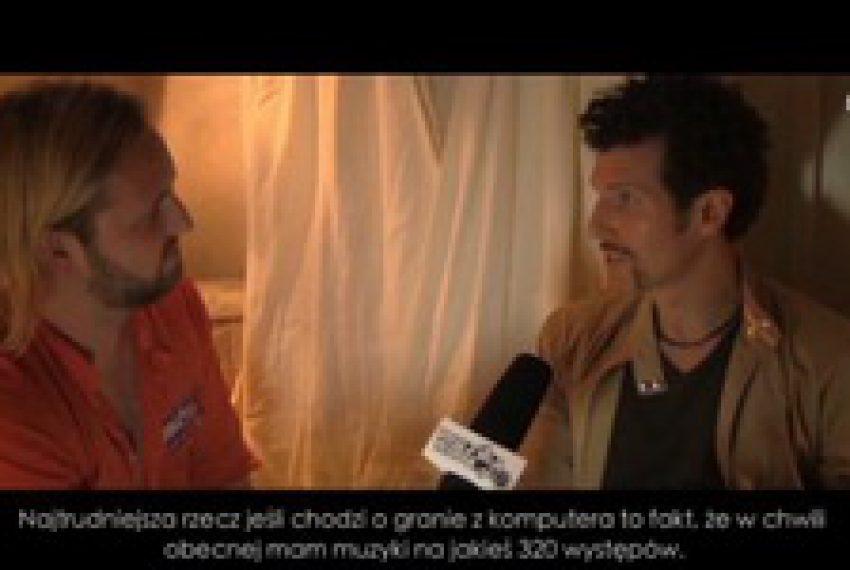 Josh Wink – wywiad @ Global Gathering Polska