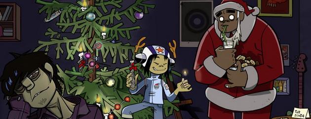 Muzyczne prezenty od Gorillaz na Święta