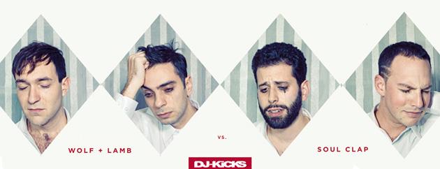 'DJ Kicks' w rękach Wolf + Lamb & Soul Clap