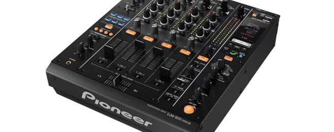 Nowy mixer Pioneer'a – DJM-900nexus
