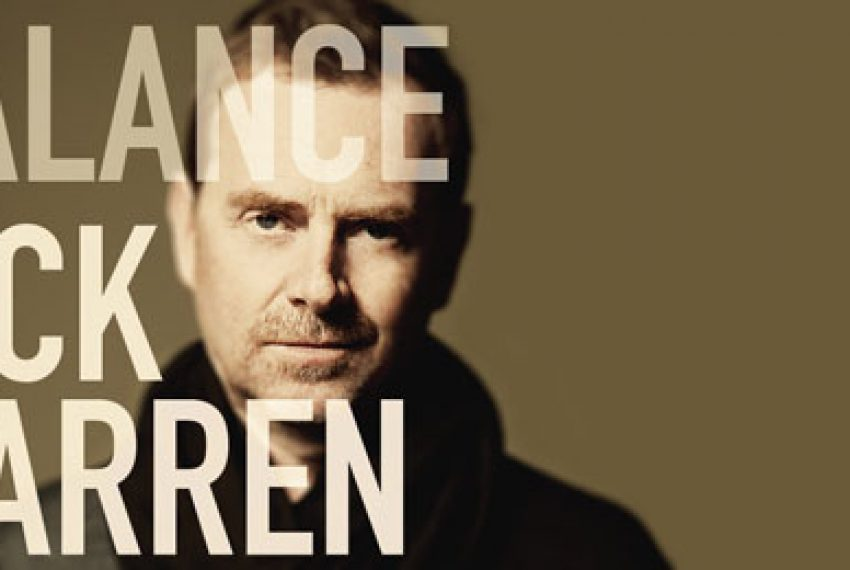 'Balance 018' w rękach Nicka Warrena