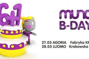 Urodzinowy weekend Muno.pl w Krakowie i Wrocławiu!
