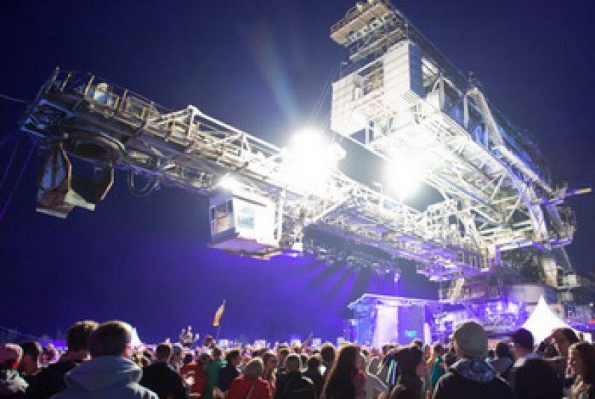 Melt! Festival 2011 @ Ferropolis