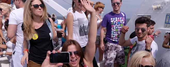 Relacja z Big Boat Party w audycji BE 4! VIDEO!
