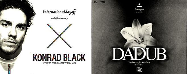 Konrad Black i Dadub w poznańskim klubie 8 Bitów