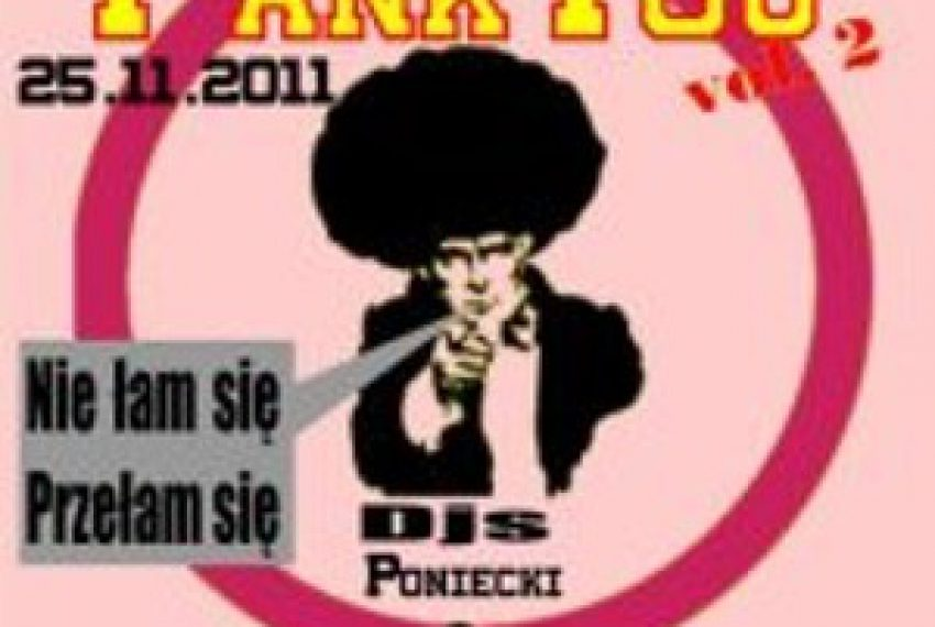 Poniecki – Fank You vol 2 Exclusive promo mix by poniecki