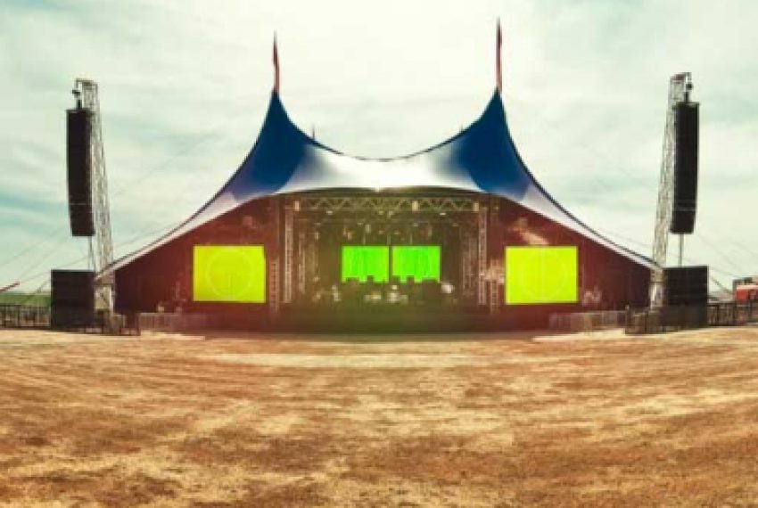 Pustynny rave na Monegros Festival 2012
