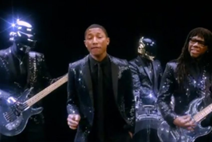 Daft Punk feat Pharrell & Nile Rodgers – Get Lucky