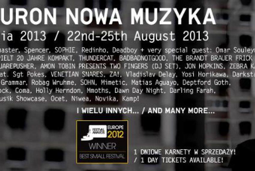 Jeszcze więcej artystów na Tauron Nowa Muzyka – BILETY!