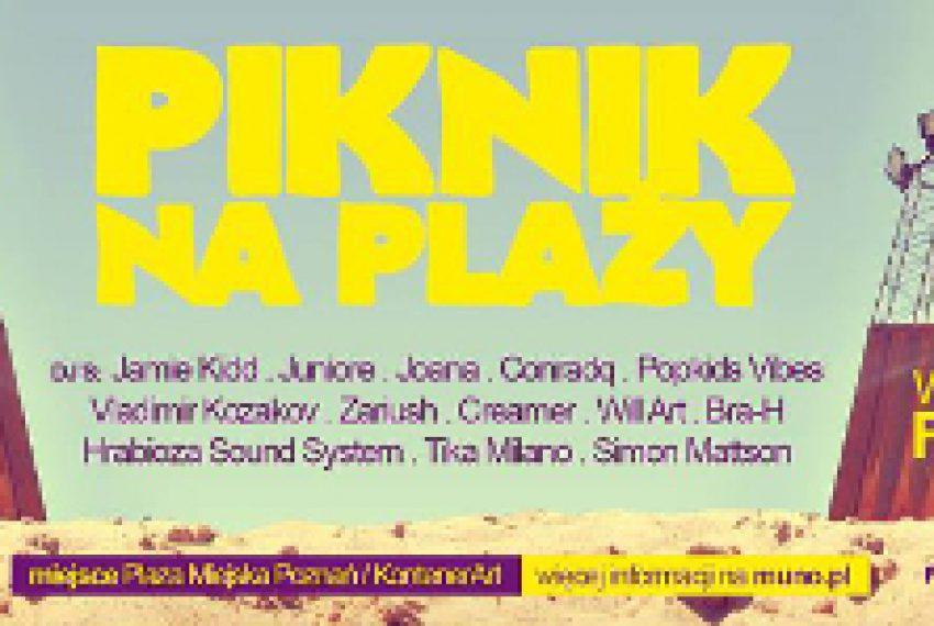 Finał 9. Urodzin Muno.pl na poznańskiej plaży