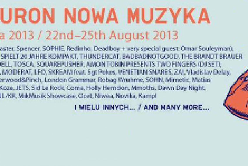 Tauron Nowa Muzyka 2013 – PROGRAM FESTIWALU