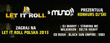 Zagraj na Let It Roll Polska DJ KONKURS!