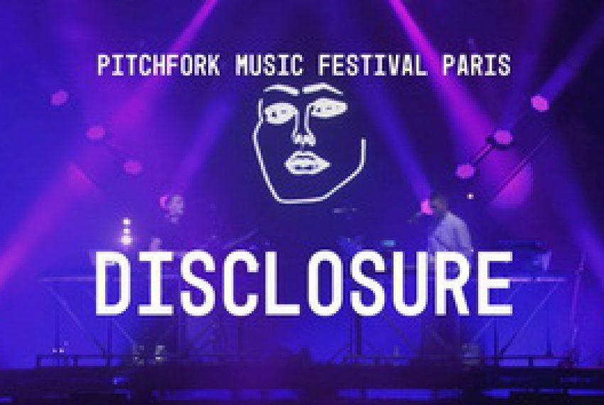 Disclosure Live @ Pitchfork Music Festival