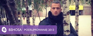 Podsumowanie 2013 – Michał Bshosa Brzozowski