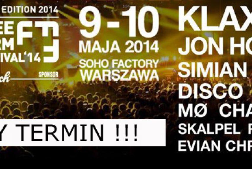 Nowy termin FreeFormFestival 2014!
