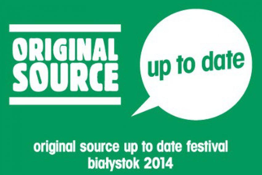 Original Source Up To Date ogłasza datę i pierwszych artystów