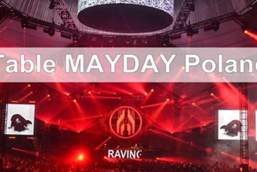 Mayday Poland ogłasza timetable